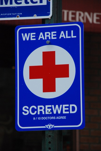 Healthcare. We Are All Screwed