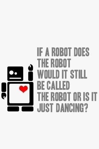 lol dancing robot