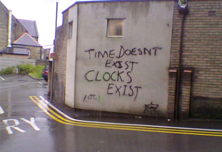 Time Doesn't Exist, Clocks Exist