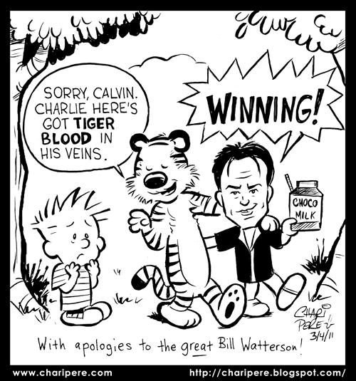 hobbes tiger. Breaks Up Calvin amp; Hobbes