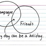 Any day can be a holiday.