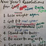 Updated New Years Resolutions!
