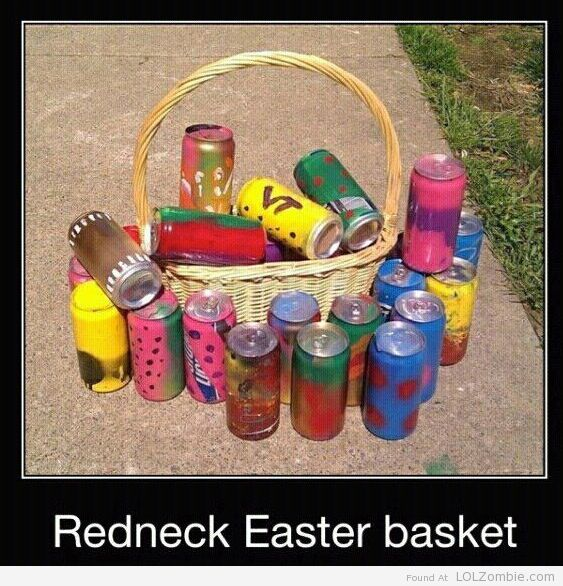 Redneck Easter Basket