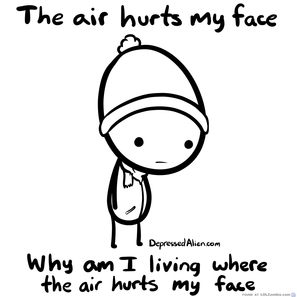 Winter Windchill : The Air Hurts My Face