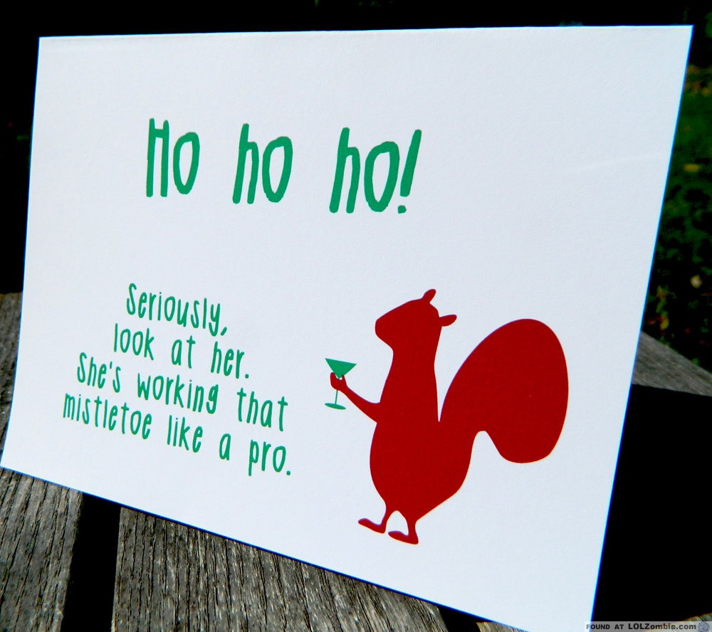 Ho Ho Ho. Seriously, Look At Her