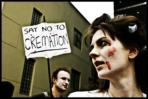 Say No To Cremation